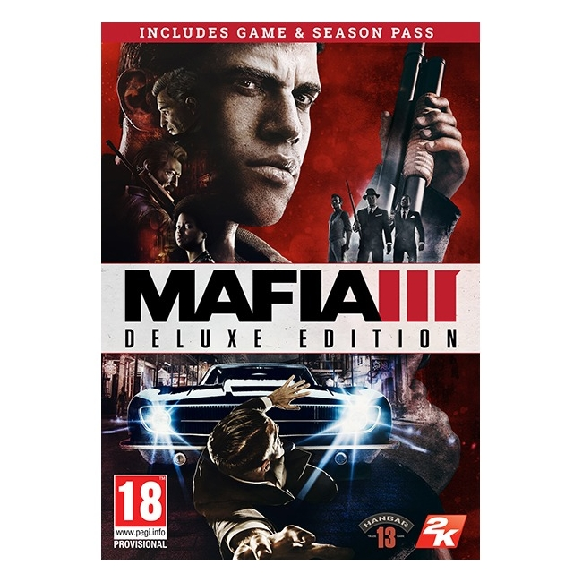 Mafia III Deluxe Edition, 2K, PC, 710425418136