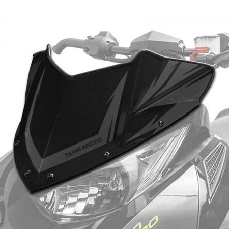 Arctic Cat Windshield - Arctic Cat New OEM Low Sno Pro Windshield Black ZR XF M PTA BC, 7639-696
