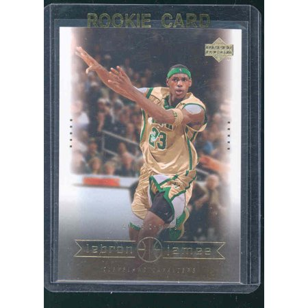Upper Deck Rookie Class Card - 2003 Upper Deck #2 State Champs Lebron James Rookie Card