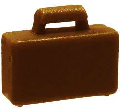 LEGO LEGO City Dark Brown Briefcase