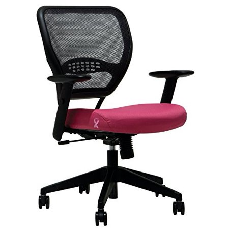 Office Star Products Office Star Professional Airgrid Breast Cancer Logo -