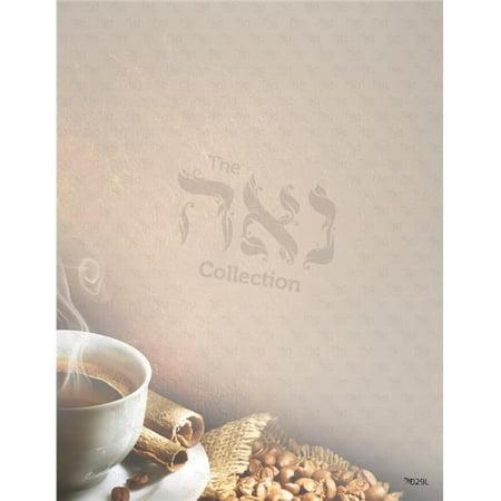 A&M Judaica And Gifts SZ029L Design Paper - Coffee Break, 8.5 x 11 in. - 10 per -