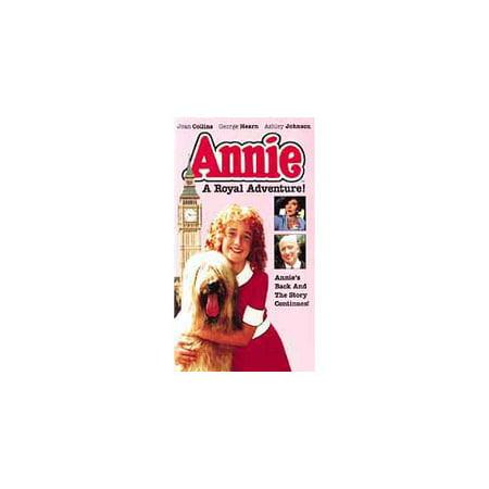 Annie A Royal Adventure Children Family (1995) Vintage VHS Tape - (Ashley Johnson)