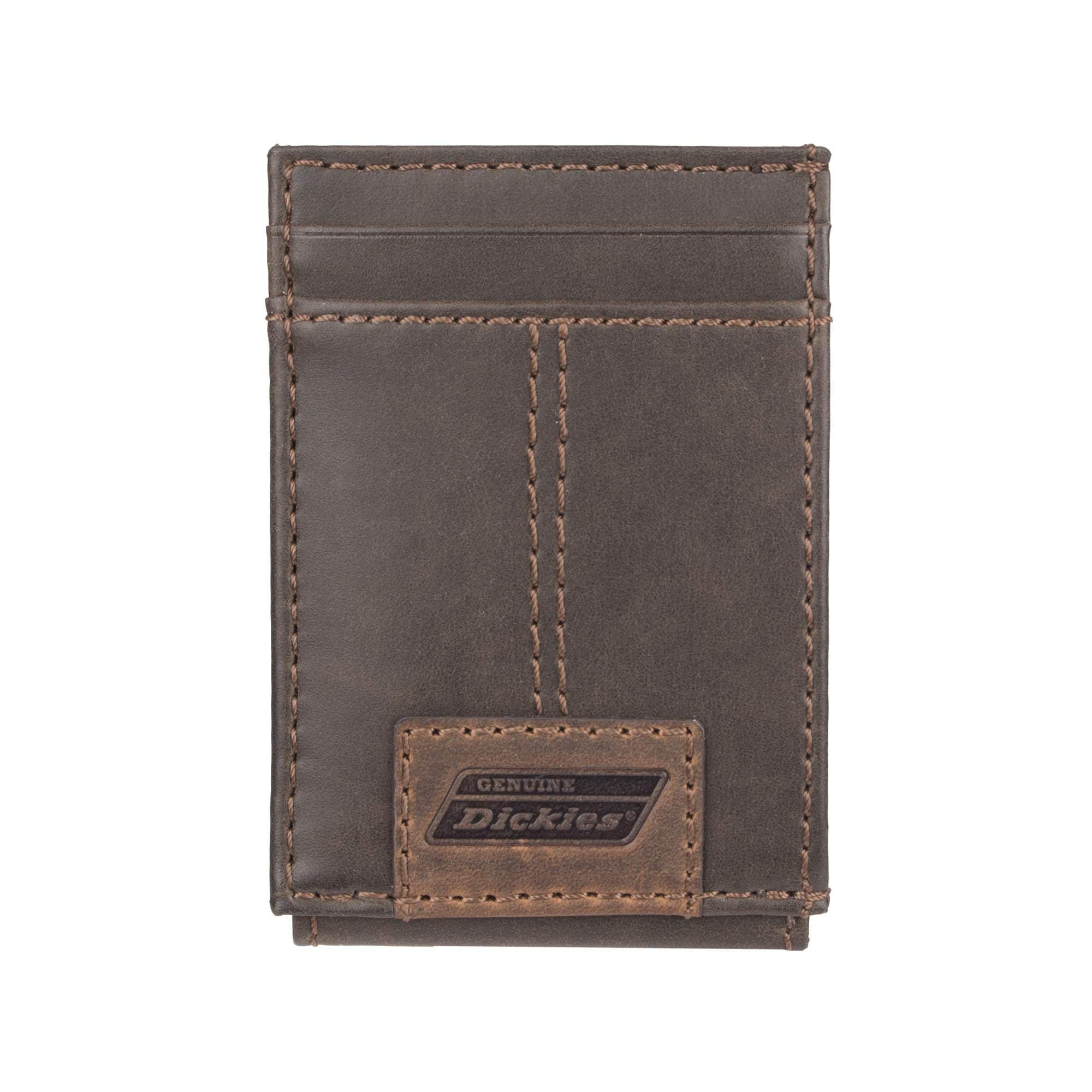 ea5b236b1eae Dickies - RFID Wide Magnetic Front Pocket Wallet - Walmart.com