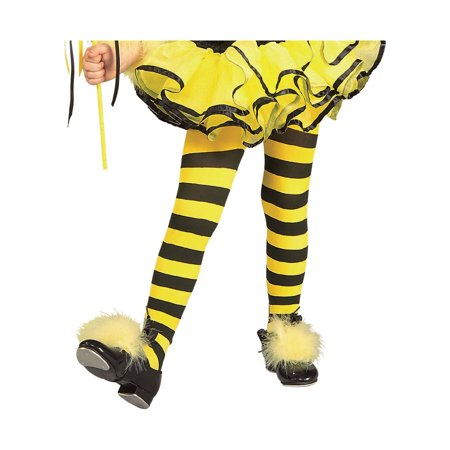 Bumblebee Tights Child Halloween - Bumblebee Gloves