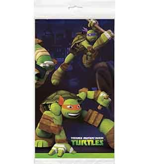 Official Teenage Mutant Ninja Turtles Party Table Cover Cloth 120cm x 180cm