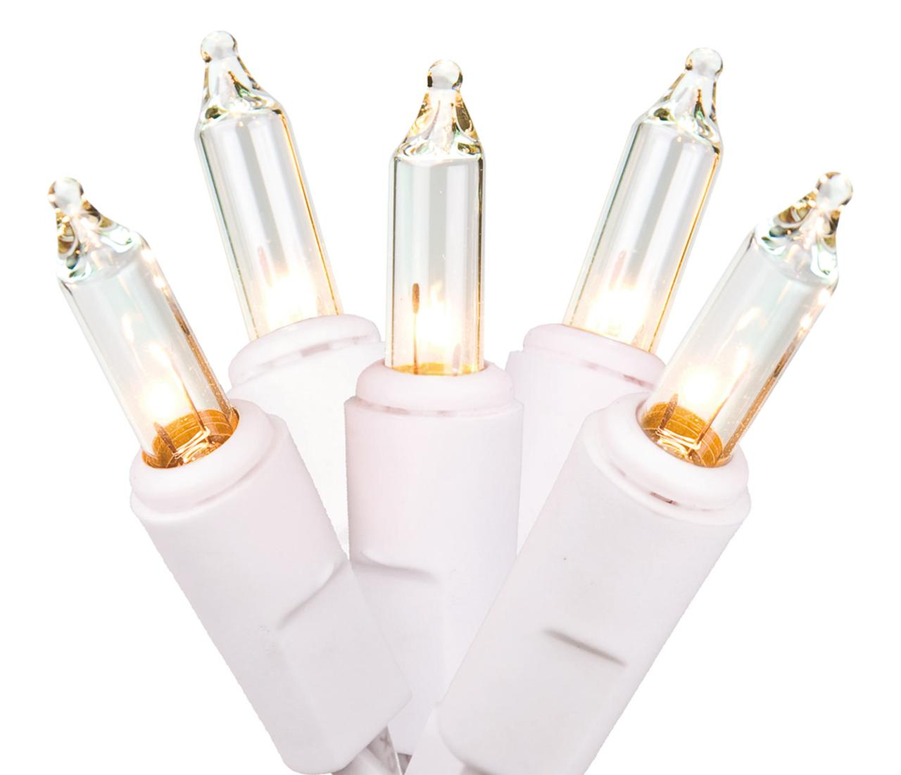 Clear White Wire Light Set