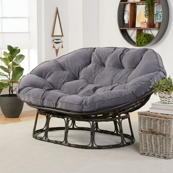 Better Homes & Gardens Papasan Bench with Cushion