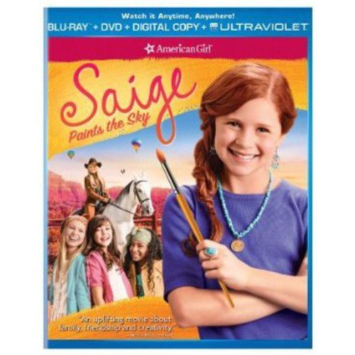 American Girl: Saige Paints The Sky (Blu-ray   DVD   Digital Copy   UltraViolet) (With INSTAWATCH) (Anamorphic Widescreen)