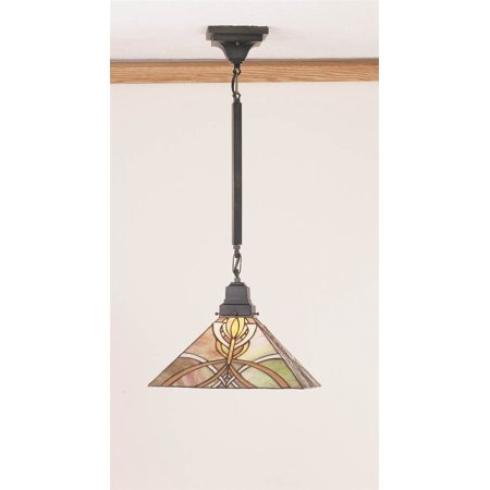 1-Light Glasgow Bungalow Pendant