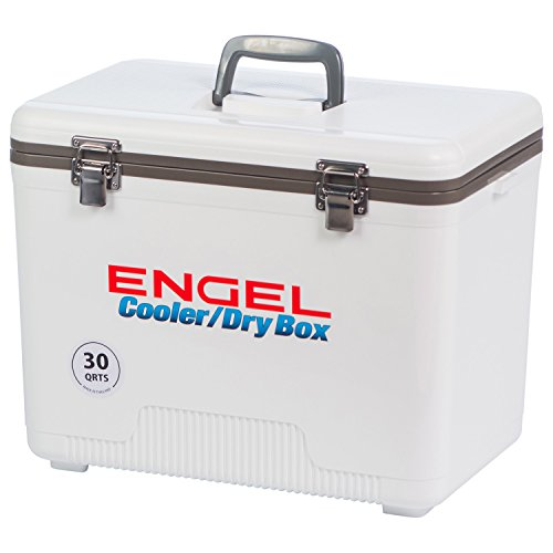 Ultra-Cool UC30 Engel Ultimate Air Tight Ice/Dry Box Cooler, 30-Quart