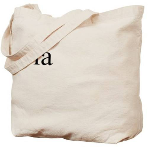 Cafepress Personalized Yellow Bow Custom Name Tote Bag