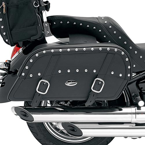 Saddlemen Desperado Slant Saddlebags Jumbo Custom-Fit