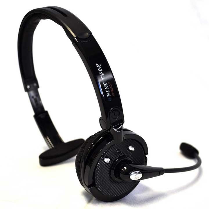 Blue Tiger Pro Bluetooth OTH 20HRS - Black