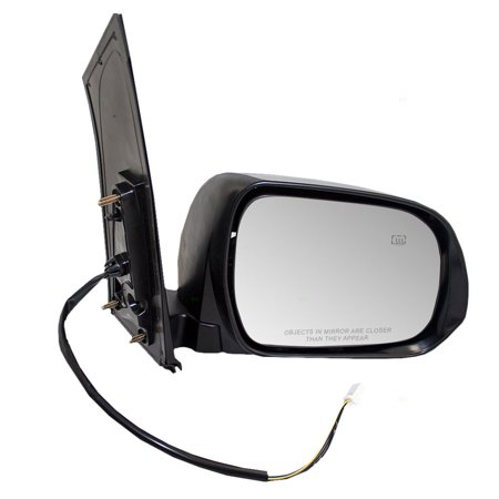 Passengers Power Side View Mirror Heated Replacement for Toyota Sienna Van 87910-08092-C0 ()