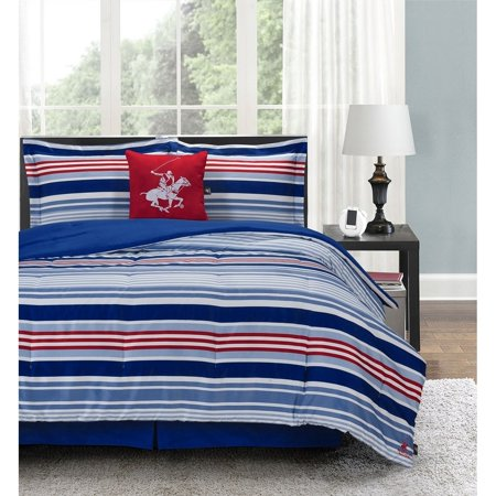 Beverly Hills Polo Club 5-Piece Comforter Set Charter Club Vail Comforter