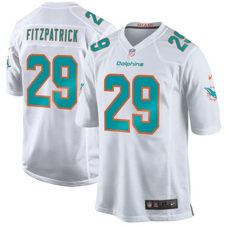 - Minkah Fitzpatrick Miami Dolphins Nike Game Jersey - White