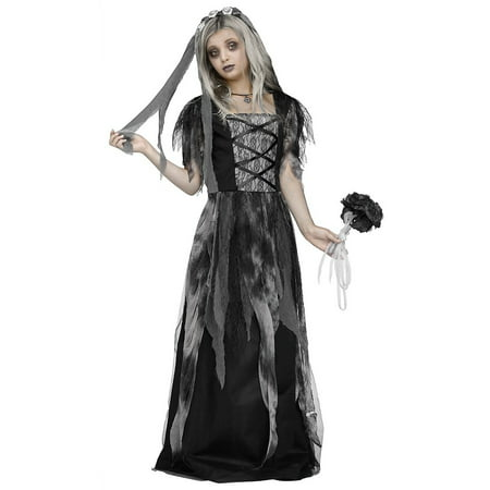 Bride Halloween Costume (Children's Bride Of Frankenstein Costume)
