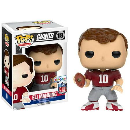 - NFL Funko POP! Sports Eli Manning Vinyl Figure [Throwback Jersey]