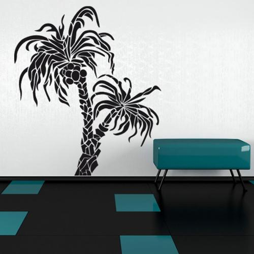 Style and Apply Palm Trees Floral Vinyl Wall Art