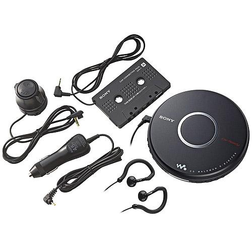 Sony Walkman Portable CD Player with Car Kit