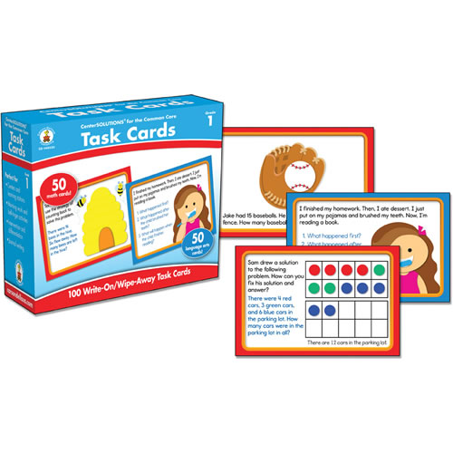 Common Core Task Cards - Grade 1