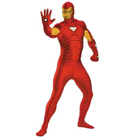 Iron Man Onesie Adults (Iron Man Bodysuit Costume)