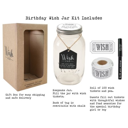 Top Shelf Happy Birthday Wish Jar Unique Gift Ideas For Mom Dad Sister