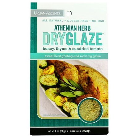 (4 Pack) Urban Accents Dry Glaze, Athenian Herb, 2 (C/s Dried Herb)