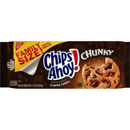 Nabisco Chips Ahoy  Chunky Crunchy Cookies  18 Oz
