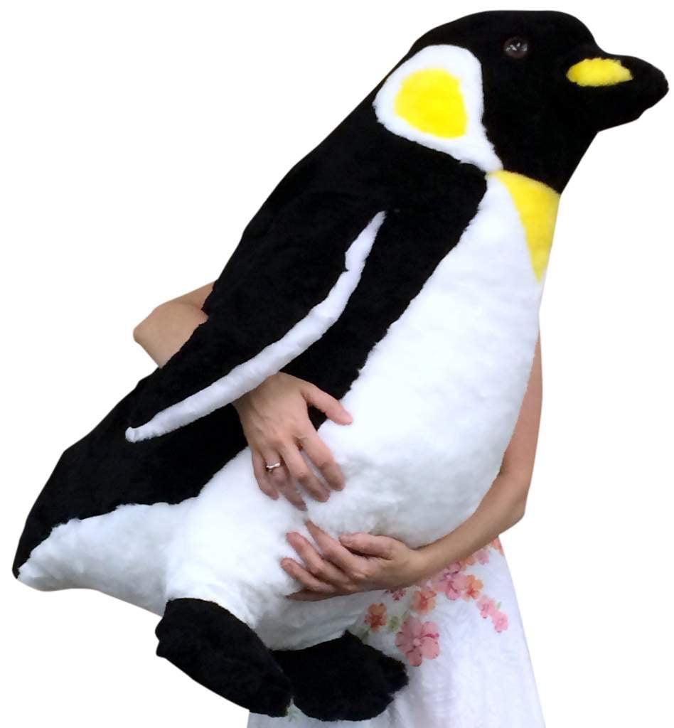 American Made Giant Stuffed Penguin 30 Inch Big Soft Stuffed Animal