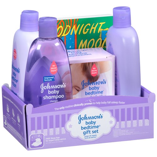 Johnson's Baby Bedtime Gift Set, 5 pc