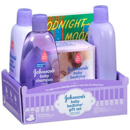 Johnson Baby Set Bedtime cadeaux, 5 pc