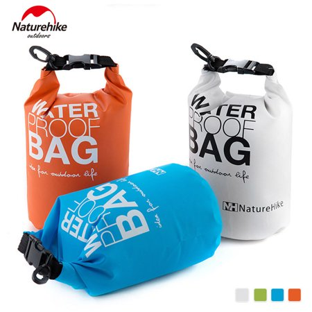 Portable Waterproof Camping Rafting Storage Dry Bag With Ajule Strap Hook 5l