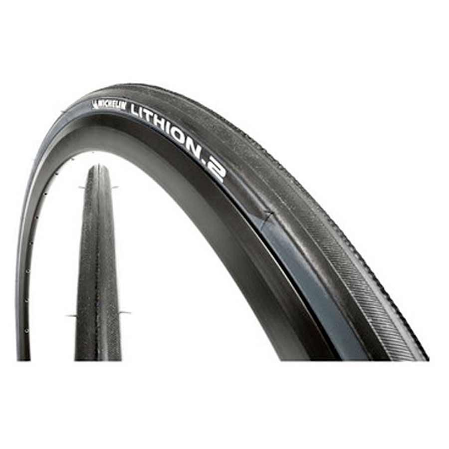 Michelin Lithion 2 Tire, 700 x 23mm Black/Gray