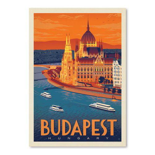 East Urban Home 'Hungary Budapest' Graphic Art Print