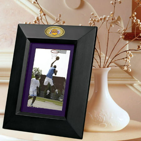 Los Angeles Lakers BLACK Portrait Picture Frame by