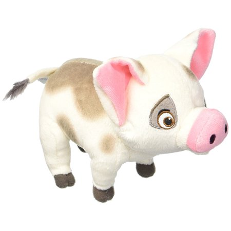 Momma Pig (Bean Plush Pua, Bring the adventures of Disney's Moana home with this adorable Pua Small Plush. This loveable pig pal is made with super soft fabrics and is the perfect..,)