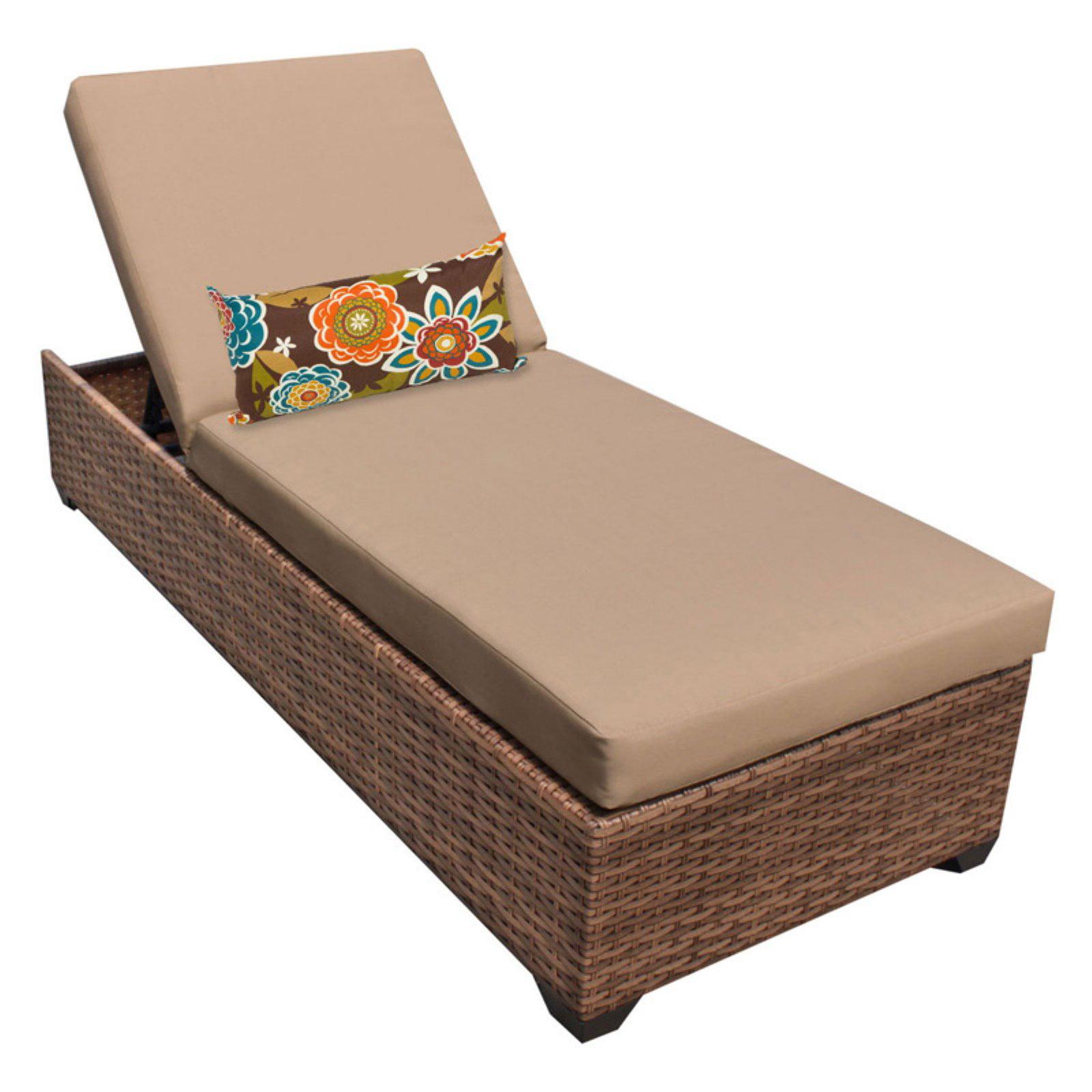 Tk Classics Laguna Outdoor Chaise Lounge Set Of 2 Cushion Covers