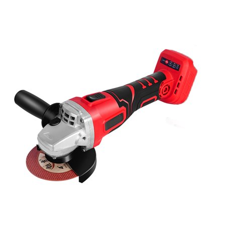 Professional Angle Grinder Cordless Brushless Li-Ion 42V Electric Wood Cutting Tool 800W 12000rpm