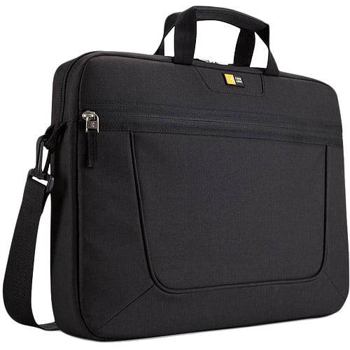 "Case Logic 15.6"" Top-Loading Laptop Briefcase, Black"