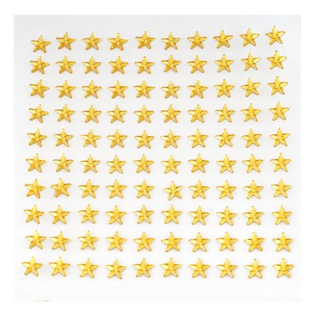 BalsaCircle 600 pcs Star Shaped Gem Stickers - Wedding Party Favors Decorations DIY Craft Supplies