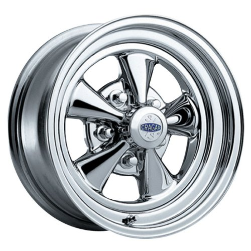 "Cragar S/S 61 Chrome Wheel (15x10""/5x4.5"")"