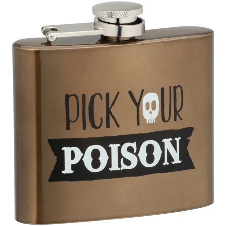 Halloween Pick Your Poison Flask