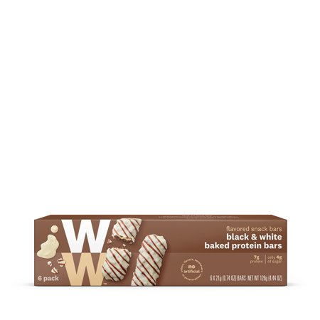 WW Black and White Baked Protein Bar White Classic Chip