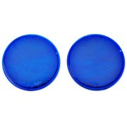 Hy-ko CDRF-4B 3 in. Blue Plastic Press On Reflector