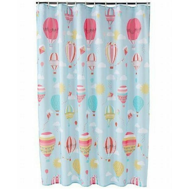 Fabric Shower Curtain Hot Air Balloon