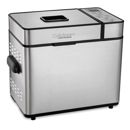 Cuisinart Automatic 2 Pound Silver Bread Maker Machine (Certified (Best Compact Bread Maker)