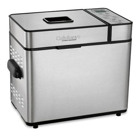 Easy Bread Machine - Cuisinart Automatic 2 Pound Silver Bread Maker Machine (Certified Refurbished)