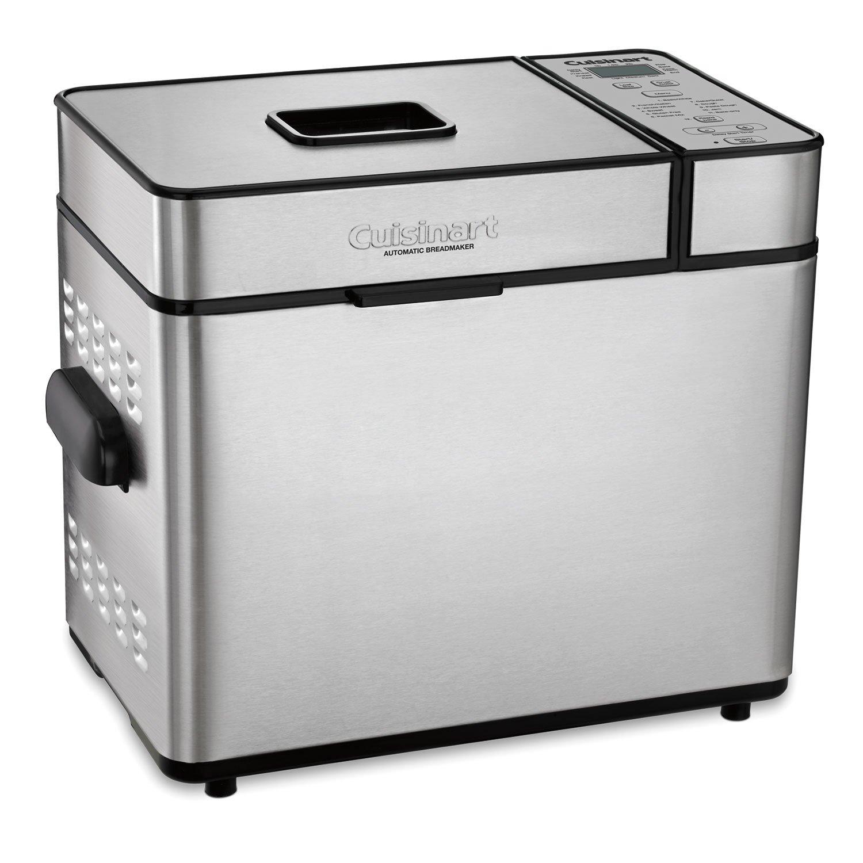 Cuisinart Automatic 2 Pound Silver Bread Maker Machine (Certified Refurbished)
